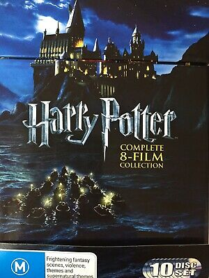 HARRY POTTER - Complete 8 Film Collection DVD Box Set AS NEW!