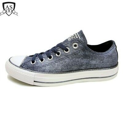 0accf5e0daf7 Women s Converse All Star CT OX Washed Navy Sneaker 545029F size 5