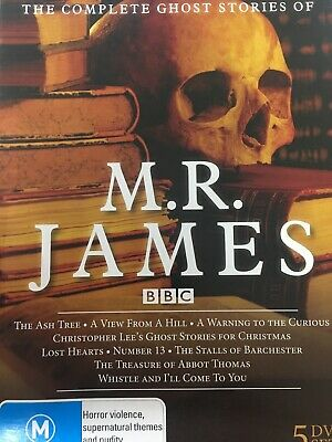 MR M.R. JAMES - The Complete Ghost Stories Of 5 x DVD Box Set Exc Cond!