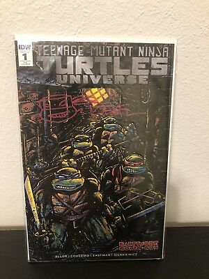 Signed Remarked TMNT Universe #1 Baltimore Comic Con Kevin Eastman Cover IDW