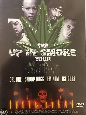 THE UP IN SMOKE TOUR DVD Dr Dre / Snoop Dogg / Eminem / Ice Cube AS NEW!