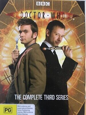 DOCTOR WHO - Series 3 6 x DVD Set Exc Cond! Complete Third Series Three Box Set