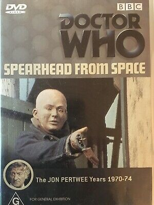 DOCTOR WHO - Spearhead From Space DVD BBC Excellent Condition! Jon Pertwee