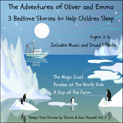 BEDTIME STORIES FOR CHILDREN CD TO HELP THEM SLEEP Ages 2 - 6. Vol:2 HALF PRICE
