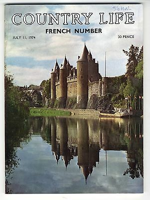 1974 COUNTRY LIFE MAGAZINE 11 July JOSSELIN Henley Wimbledon Connors and Evert