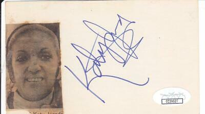 Entertainment Memorabilia Robert Stephens D 1995 Signed 3x5 Index Card Actress/sherlock Holmes Jsa Cc39521 Cards & Papers