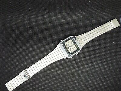 Rare CASIO Vintage Digital Watch 262 DB-500 80s RETRO DATABANK TELEMEMO 50