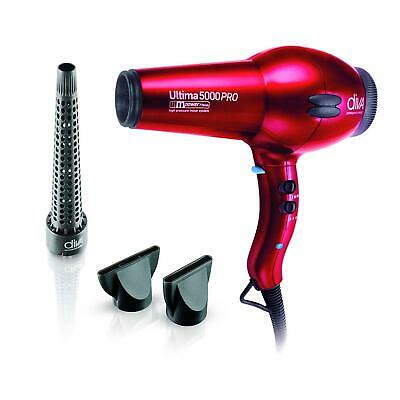 The Diva Professional Styling Ultima 5000 Hairdryer Red