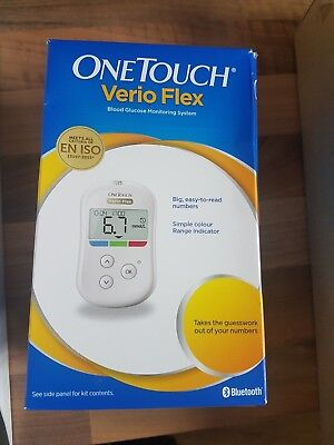 One Touch Verio Flex Blood Glucose Monitoring System Mg/Dl