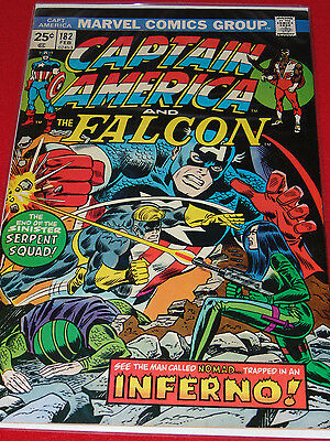 Marvel Comics Group Captain America & The Falcon End Of The Serpent Squad #182