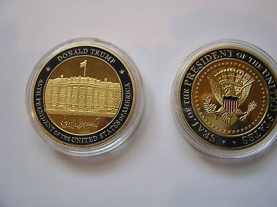 *Donald Trump 45th President And Seal Of The President United States Of America