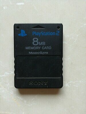 Memory Card Ps2 8mb Officielle