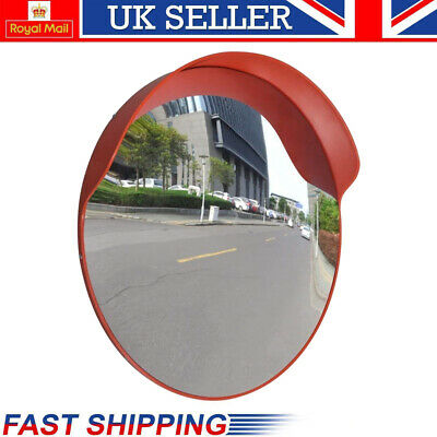 Wide Angle Convex Mirror Curved Outdoor Road Traffic Driveway Safety Security