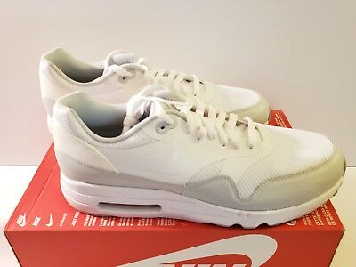 buy popular bf3a5 6fb52 Nike Air Max 1 Ultra 2.0 Essential Size 11.5 White-Pure Platinum (875679 101