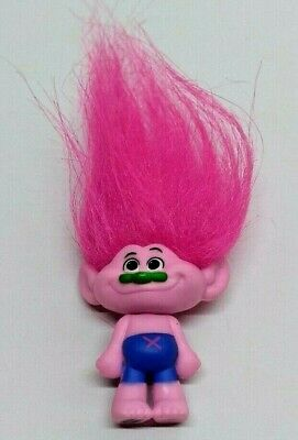 Trolls Blind Bag Series 4 Mini Figure Princess Poppy Pink Troll No Packaging