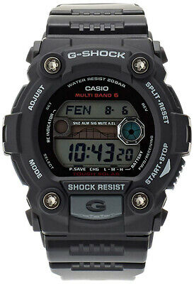 Casio G-Shock Digital Solar Powered Atomic 200m Black Resin Watch GW7900-1