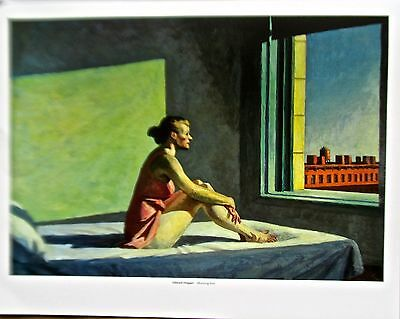 "Edward Hopper /""Cape Cod Morning/"" Albany Museum Of Art 1985 Lithograph NOS"