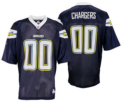 timeless design 41023 eefe8 REEBOK FOOTBALL SAN Diego Chargers NFL Mens Vintage Team Replica Jersey,  Navy
