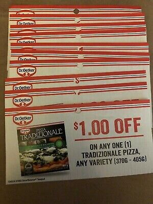 10 coupons, each for $1 off any one Dr Oetker Tradizionale Pizza, any variety