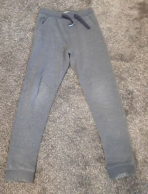 Next Boys Blue Grey Jogging Bottoms - Size 8 years