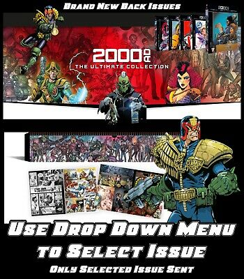 2000 AD: The Ultimate Collection : Brand New Hardback Comic Books By Hachette