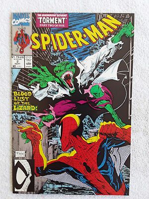 Spider-Man #2 (Sep 1990, Marvel) Vol #1 NM