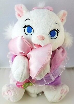 """Disney Parks Store Marie Baby in Blanket Cat Babies Plush Stuffed 10"""" Aristocats"""