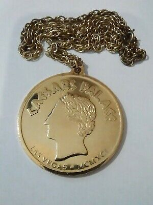 Caesars Palace Las Vegas Nevada Vintage Vault Necklace Great For Any Collection!