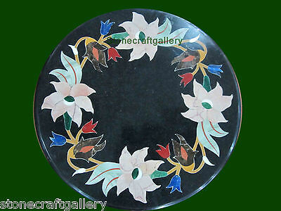 """12"""" Table Top Marble Pietra dura Crafts Handmade Home Decor & Gift"""