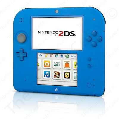 Nintendo 2DS - Electric Blue Gaming Console with Charger