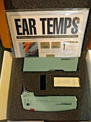 Thermoscan Pro LT Tympanic IR Ear thermometer Professional WITH 160 Probe Covers