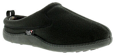 Mens Fleece Mule Slippers. UK Size