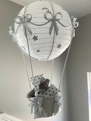 Me to you Teddy in a hot air balloon nursery lightshade