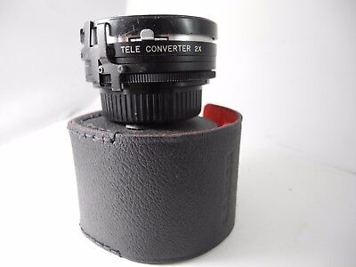 Super Albinar Auto Tele Converter 2x For Nikon-AI Lens COMPLETE WITH CAPS & CASE