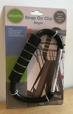 Playette Snap On Clip Large for trolley, pram