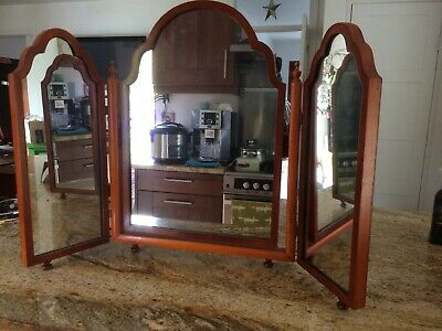 Large Attractive Folding Dressing table Mirror