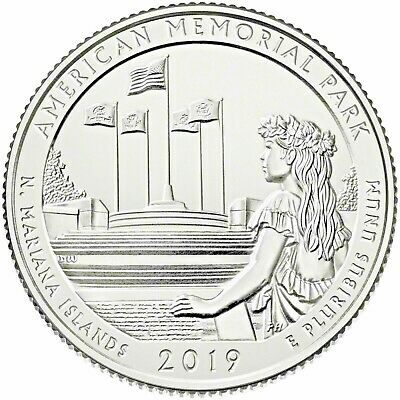 2019 American Memorial Park (Northern Mariana Islands) P,d & S Set D-10-19