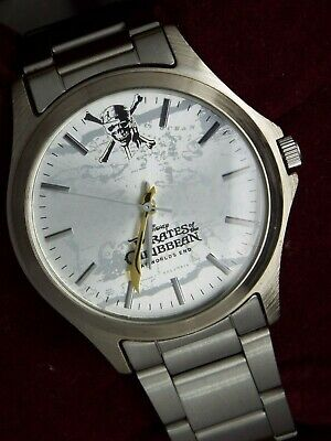 Rare Seiko Non Vintage/ Digital Watch Pirates Of The Caribbean Johnny Depp 7N01