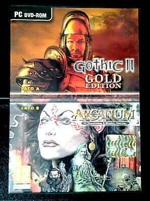 """Gothic Ii Gold Edition + Arcanum"" Completo Pc Dvd-Rom"