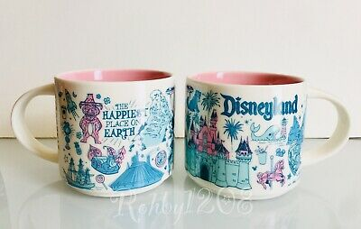 Disney Parks Disneyland Starbucks Been There Series Coffee Mug Cup NIB