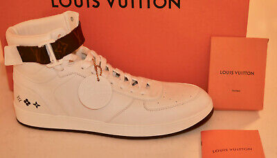 1b94a29246ff6 LOUIS VUITTON RIVOLI Sneakers Trainers Monogram Boxed With Invoice ...
