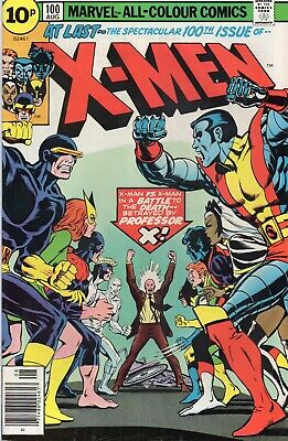 UNCANNY X-MEN #100 Claremont Cockrum Marvel Comics 1976 VF/NM