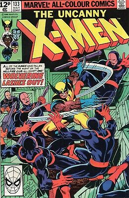 UNCANNY X-MEN #133 Claremont Byrne Marvel Comics 1980 NM