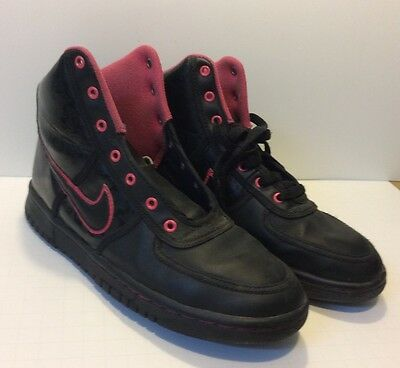 detailed look fda1f 5e90b Nike Girls Youth Black Pink Sneakers Shoes 5Y