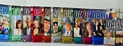 Dallas Movie Collection Seasons 1-11 Plus Prequel and Two Reunion Movies