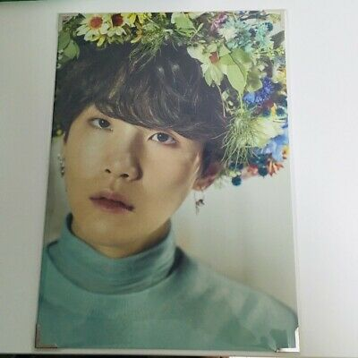 BTS BangTan Boys Love Yourself SUGA Yoongi Premium Photo SUGA Rare