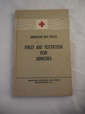 1949 American Red Cross First Aid Textbook For Juniors