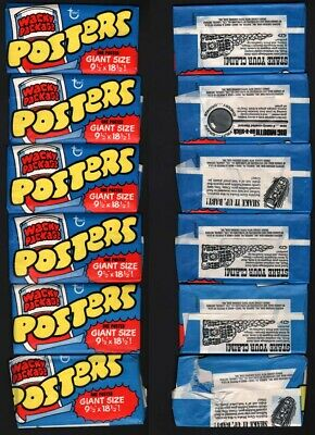 Wacky Packages Series 7 1974 Big Muc Hamberger Canvas Poster 18x24