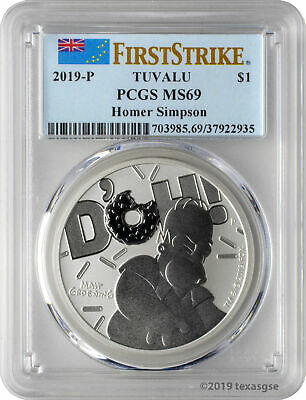 Timeless Icons 2019 1 oz .9999 Pure Silver Gold Plated Piedfort Loon 170039