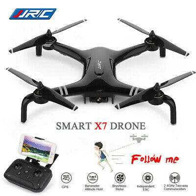 6 Axis FPV RC Drone 5G WIFI with 1080P HD Adjustable Camera Aircraft Dual GPS